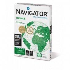 Biuro popierius Navigator Universal A4, 80g, 500 lapų