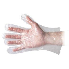 Одноразовые перчатки из полиэтилена HDPE, 100 шт.